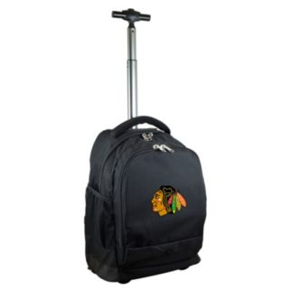Chicago Blackhawks Premium Wheeled Backpack