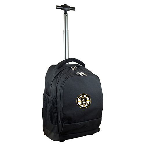 Boston Bruins Premium Wheeled Backpack