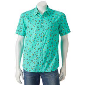 Men's Minion Button-Down Shirt