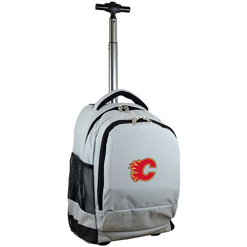 Calgary Flames Premium Wheeled Backpack