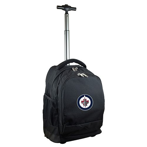 Winnipeg Jets Premium Wheeled Backpack