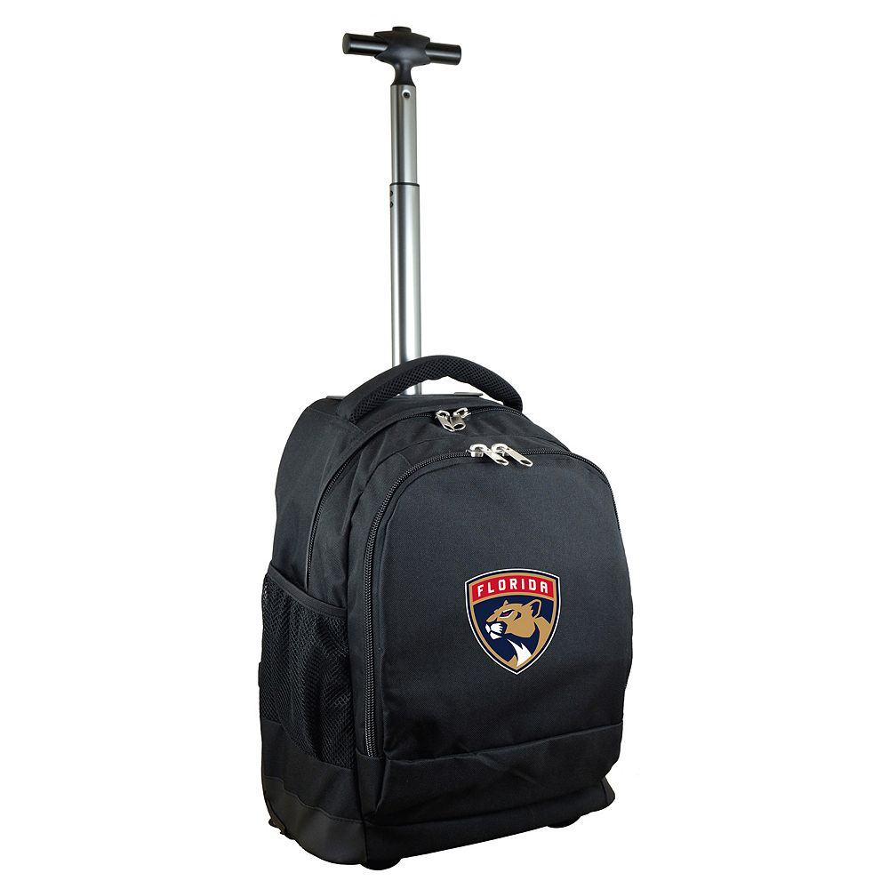 Florida Panthers Premium Wheeled Backpack