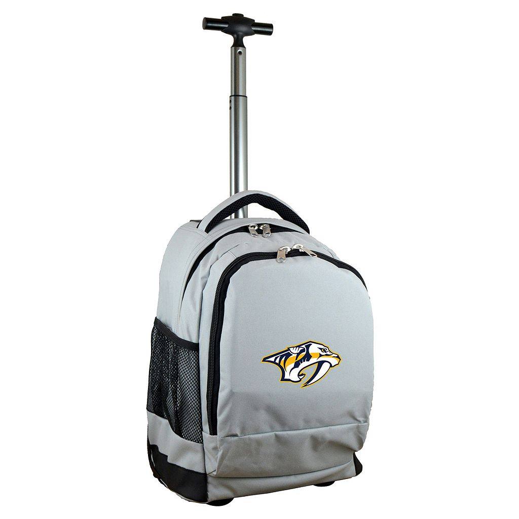 Nashville Predators Premium Wheeled Backpack