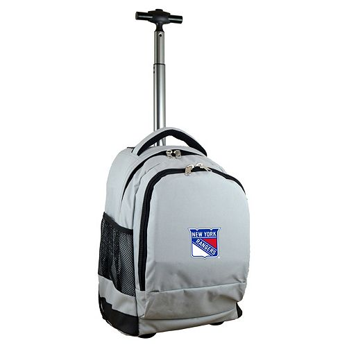 New York Rangers Premium Wheeled Backpack
