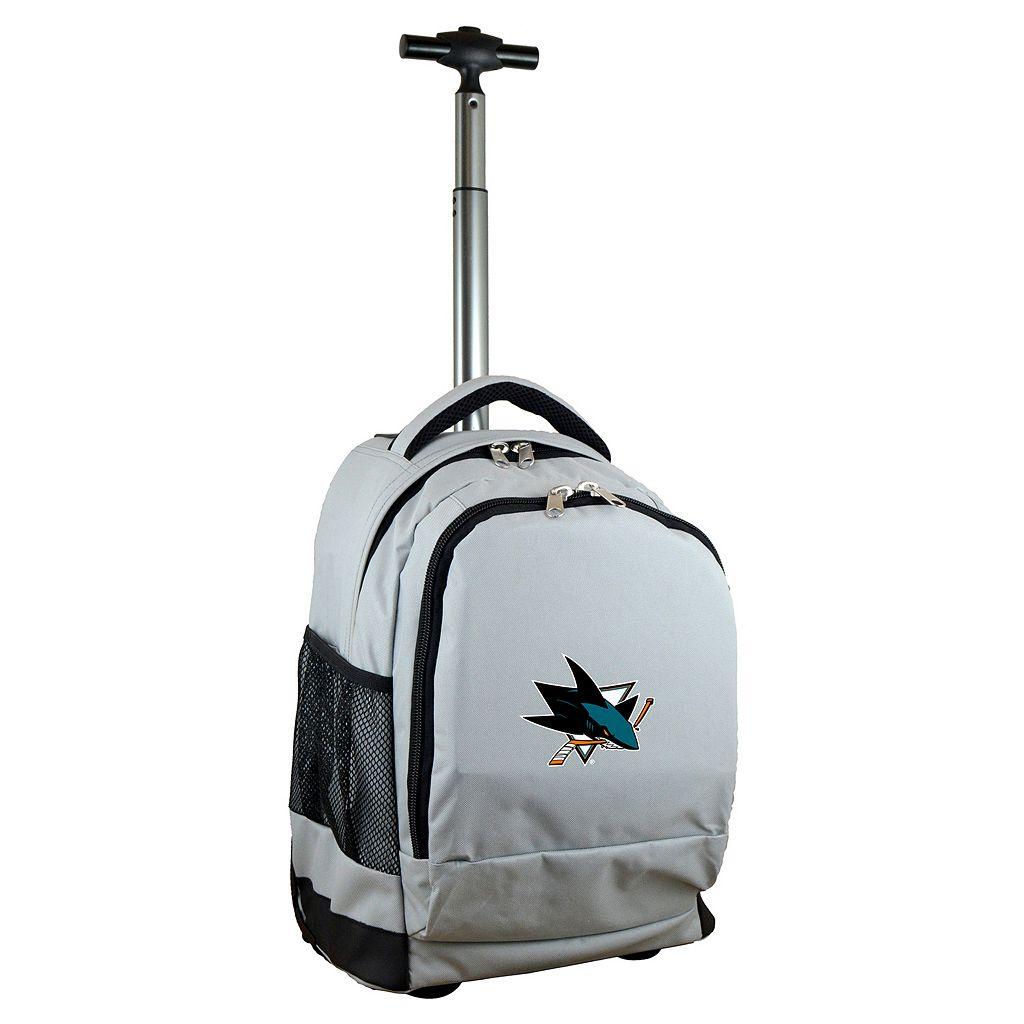 San Jose Sharks Premium Wheeled Backpack