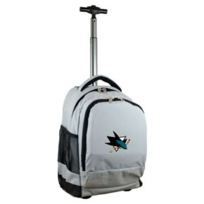 San Jose Sharks Premium Wheeled Backpack
