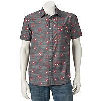 Men's Marvel Deadpool Button-Down Shirt