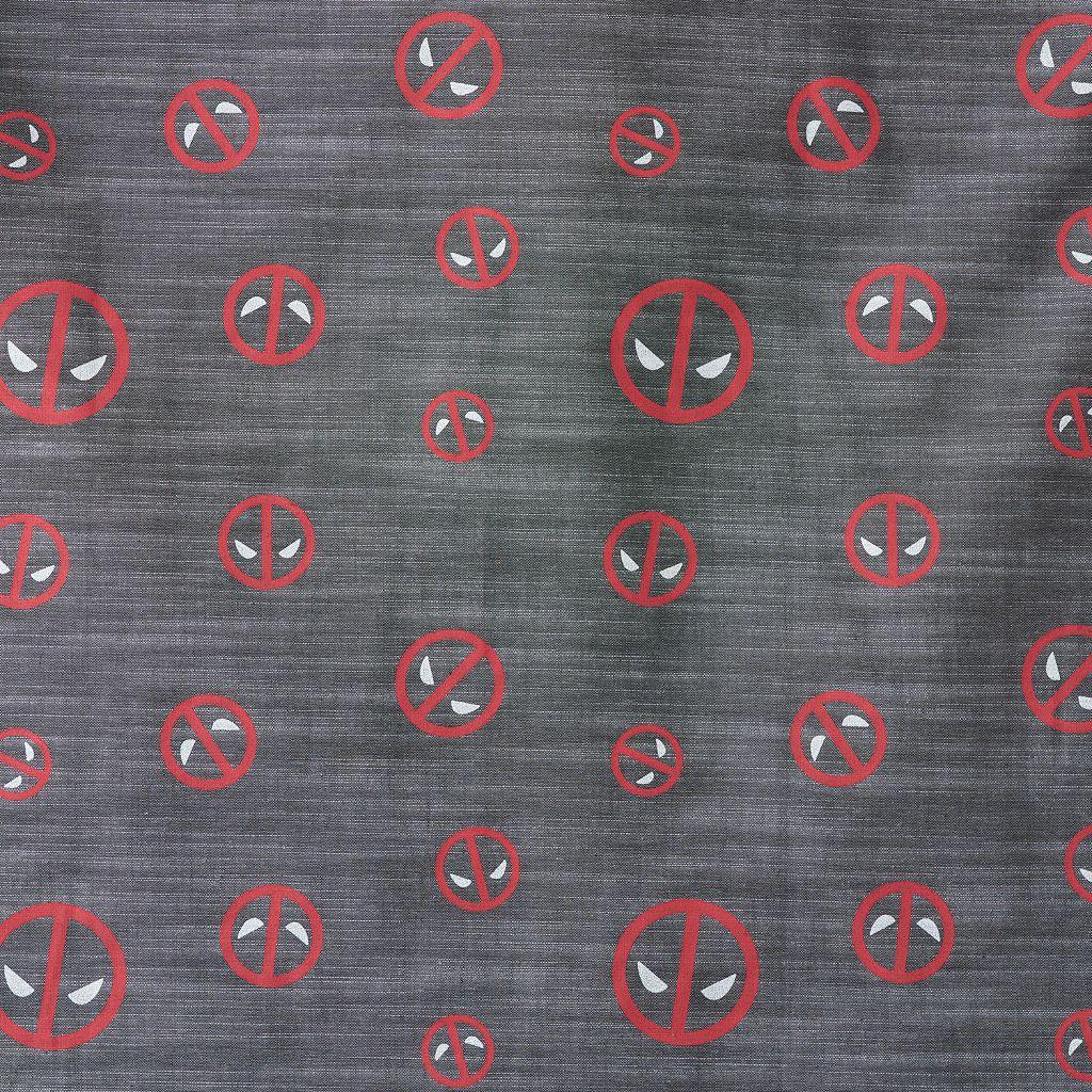 Men's Marvel Deadpool Button-Down Shirt