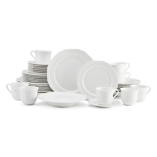 Mikasa Antique White 40-pc. Dinnerware Set