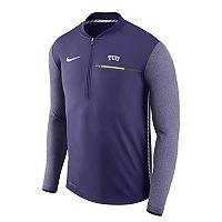Men's Nike TCU Horned Frogs Coach Pullover