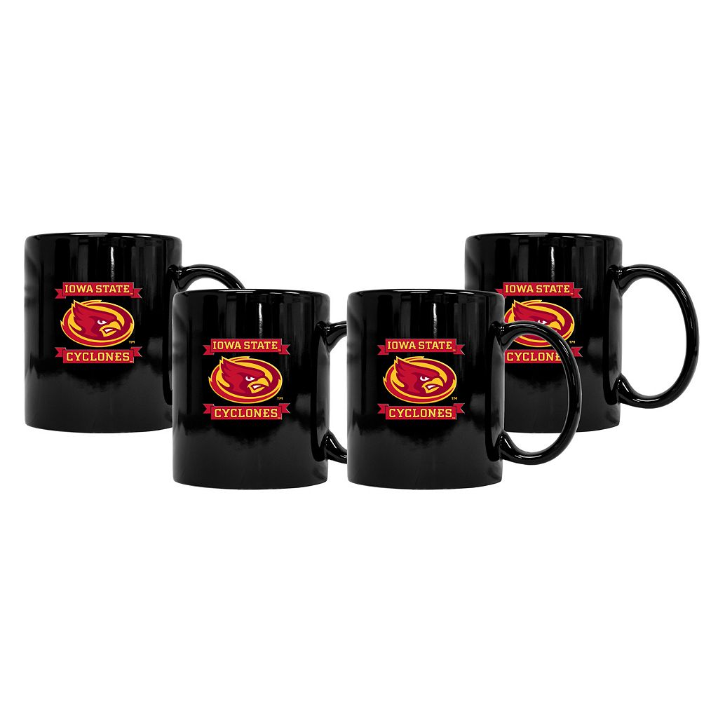 Iowa State Cyclones 4-Pack Coffee Mug Set