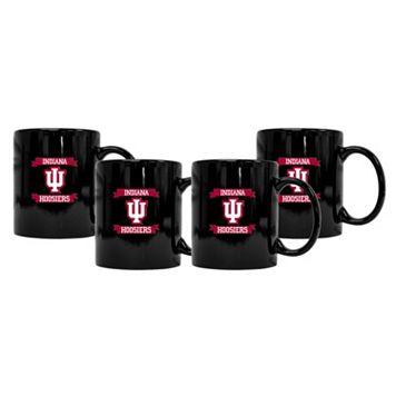 Indiana Hoosiers 4-Pack Coffee Mug Set