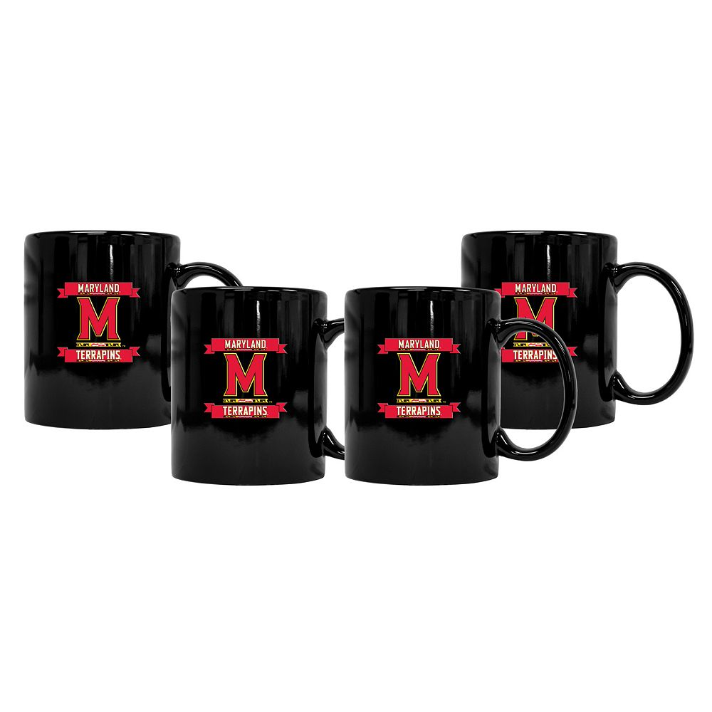 Maryland Terrapins 4-Pack Coffee Mug Set