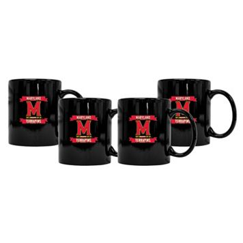Maryland Terrapins 4-Pack Coffee Mug Set