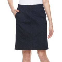 Women's Croft & Barrow® Jean Skirt