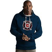 Men's Antigua Chicago Fire Victory Logo Hoodie
