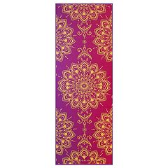 Gaiam 6mm Royal Bouquet Reversible Yoga Mat