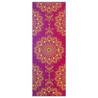 Gaiam 6mm Royal Bouquet Reversible Yoga Mat