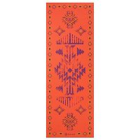 Gaiam 6mm Tribal Rhythm Reversible Yoga Mat