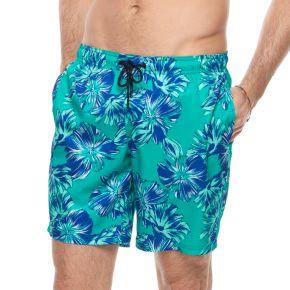 Men's Marc Anthony Slim-Fit Stretch Swim Trunks