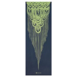 Gaiam 6mm Vintage Tapestry Reversible Yoga Mat