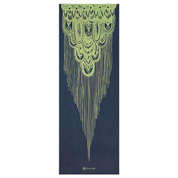 Gaiam 6mm Vintage Tapestry Reversible Yoga Mat