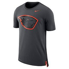 Men's Nike Oregon State Beavers Dri-FIT Mesh Back Travel Tee