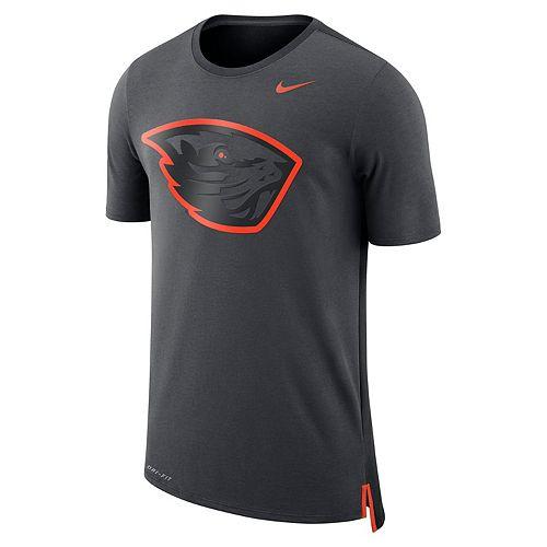 Men's Nike Oregon State Beavers Dri-FIT Mesh Back Travel Tee