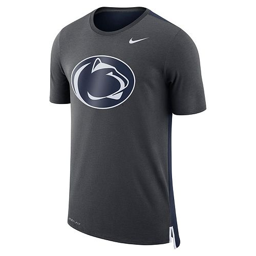 Men's Nike Penn State Nittany Lions Dri-FIT Mesh Back Travel Tee
