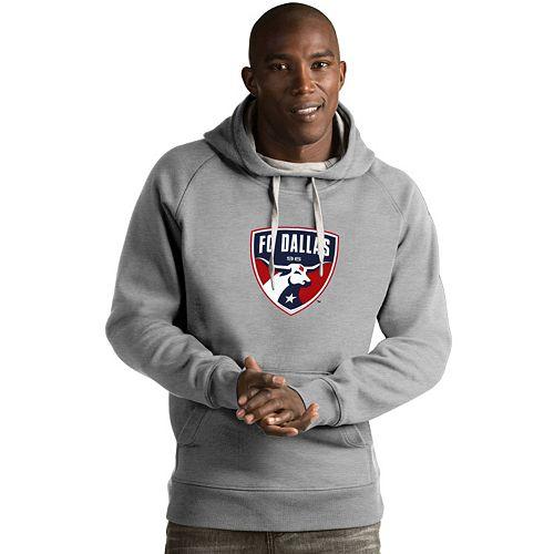 Men's Antigua FC Dallas Victory Logo Hoodie
