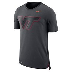 Men's Nike Virginia Tech Hokies Dri-FIT Mesh Back Travel Tee