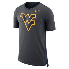 Men's Nike West Virginia Mountaineers Dri-FIT Mesh Back Travel Tee