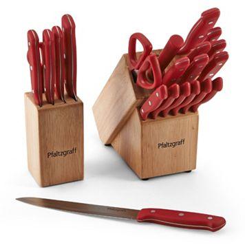 Pfaltzgraff 17-pc. Cutlery Set with Bonus 6-pc. Prep Set