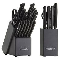 Pfaltzgraff 17 pc Cutlery Set with Bonus 6 pc Prep Set