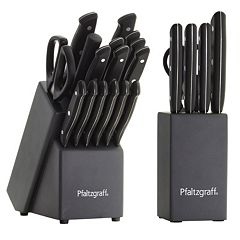 Pfaltzgraff 17-pc. Cutlery Set with Bonus 6-pc. Prep Set