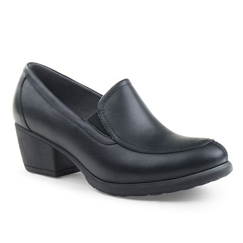 Eastland Tonie Women's ... Block-Heel Loafers free shipping visit visit sale online cheap professional outlet looking for ilKMQ