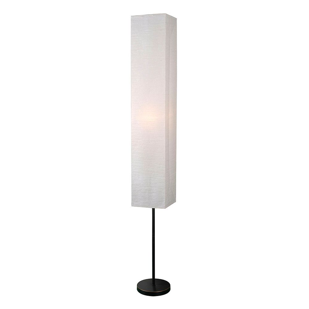 home modern white floor lamp - kenroy home modern white floor lamp