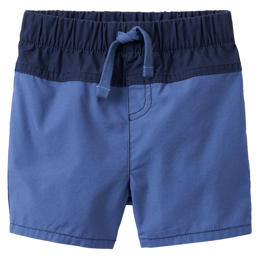 Baby Boy Jumping Beans® Rip-Stop Colorblock Shorts