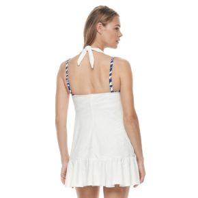 Women's Chaps Ruffled Halter Cover-Up