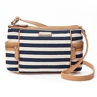 Rosetti Global Bazaar Herringbone Striped Shoulder Bag