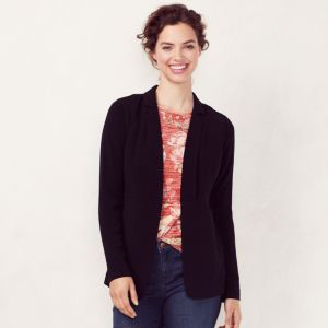 Women's LC Lauren Conrad Solid Seamed Blazer