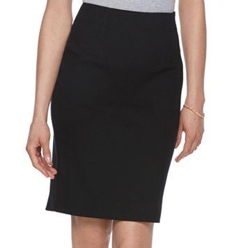 Women's ELLE™ Textured Pencil Skirt