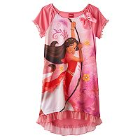 Disney's Elena of Avalor Girls 4-10 Dorm Nightgown