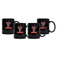 Texas Tech Red Raiders 4-Pack Coffee Mug Set