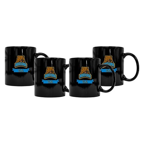 UCLA Bruins 4-Pack Coffee Mug Set