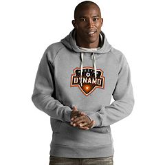 Men's Antigua Houston Dynamo Victory Logo Hoodie