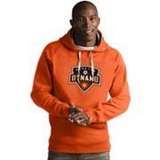 Men's Antigua Houston Dynamo Victory Logo Hoodie