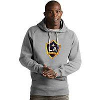 Men's Antigua Los Angeles Galaxy Victory Logo Hoodie