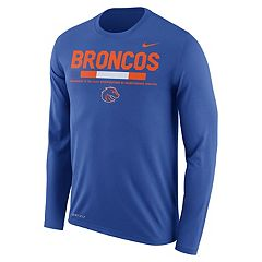Men's Nike Boise State Broncos Dri-FIT Legend Staff Long-Sleeve Tee