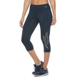 Women's FILA Sport® Geometric Mesh Capri Leggings